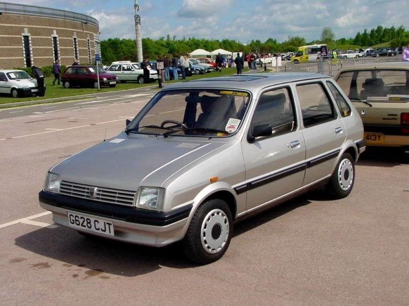 The Iconic British Cars Of The 80's Our Families Had