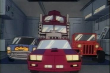 cartoon vehicles of the 80's MASK