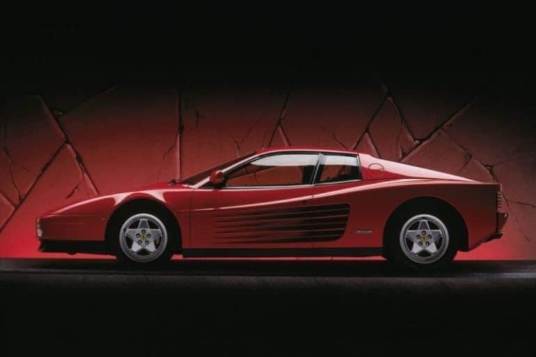 testarossa 80's sports cars