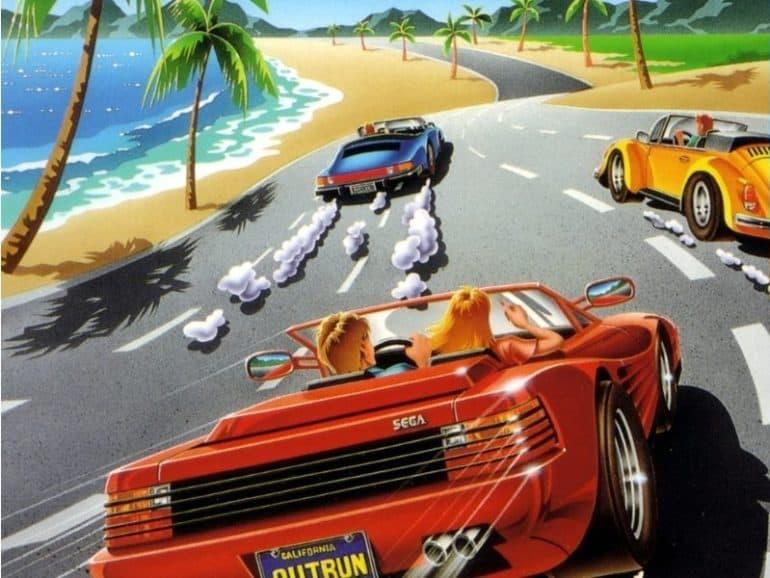 outrun arcade 1986