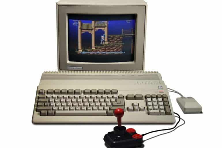 Amiga 500 games machine 1987
