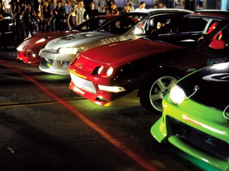 car movies - the fast and the furious