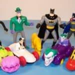 90's happy meal toys batman car figurines
