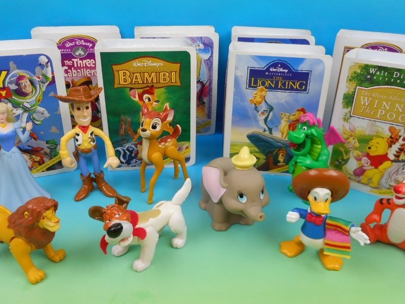 classic happy meal toys disney masterpiece collection