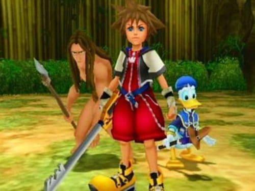 Kingdom Hearts PS2 donald