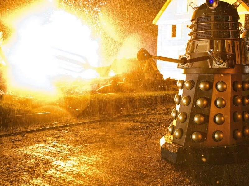 classic tv - doctor who explosions