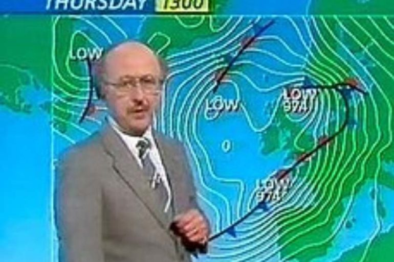 michael fish Great Storm of 1987