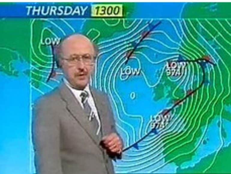 michael fish Great Storm of 1987