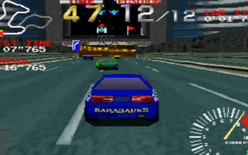 ridge racer ps1