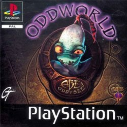 oddworld ps1 boxart