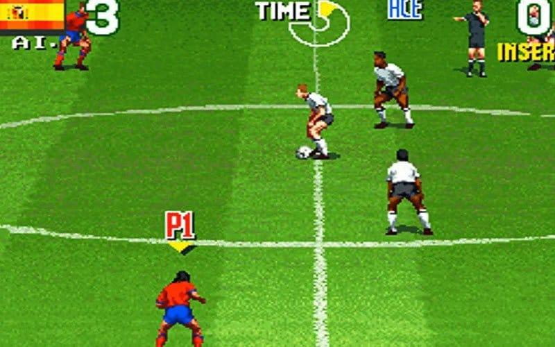 super sidekicks soccer 2 neo geo