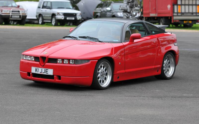 alfa romeo sz cars of 1989