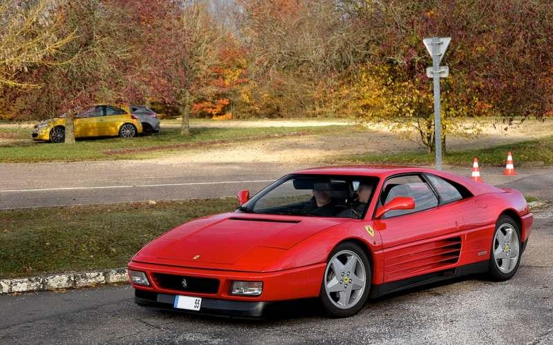 ferrari 348 cars of 1989