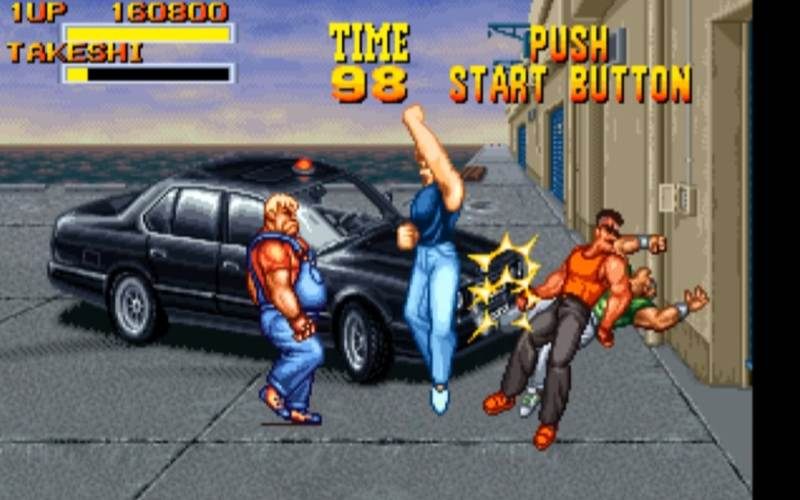 burning fight neo geo beat 'em up
