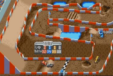 top down racing game super off road