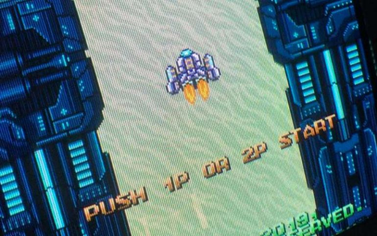 project neon new neo geo shoot em up