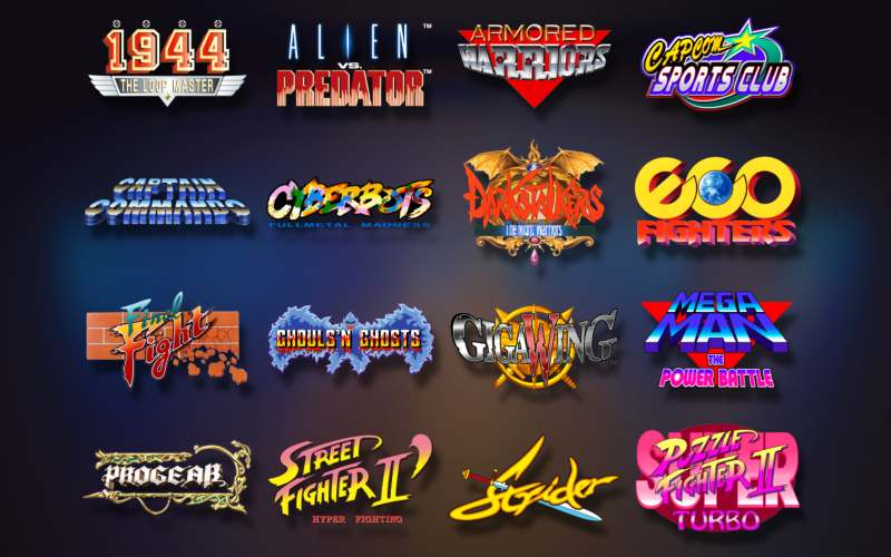 capcom home arcade games