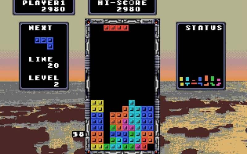 tetris mega drive