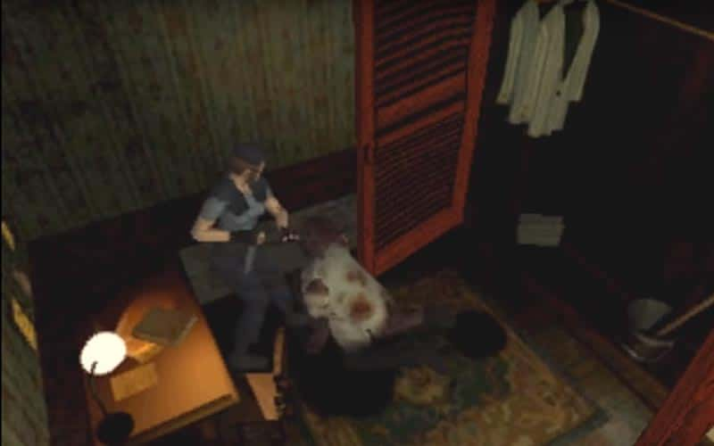 Resident evil spooky videogames