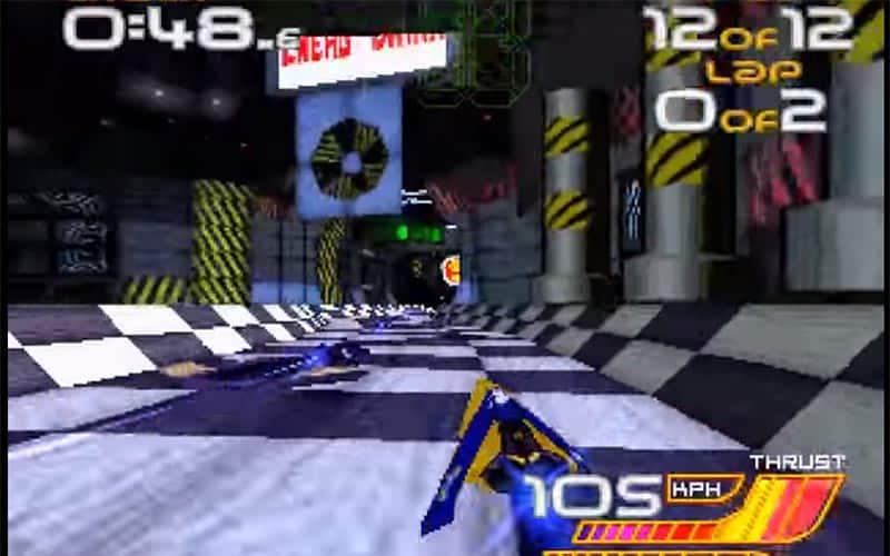Wipeout 2097 screenshot