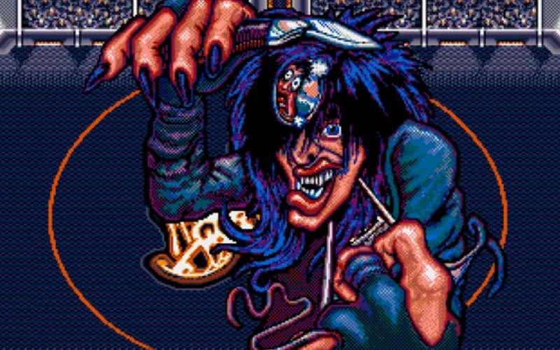 crue ball mega drive pinball video game