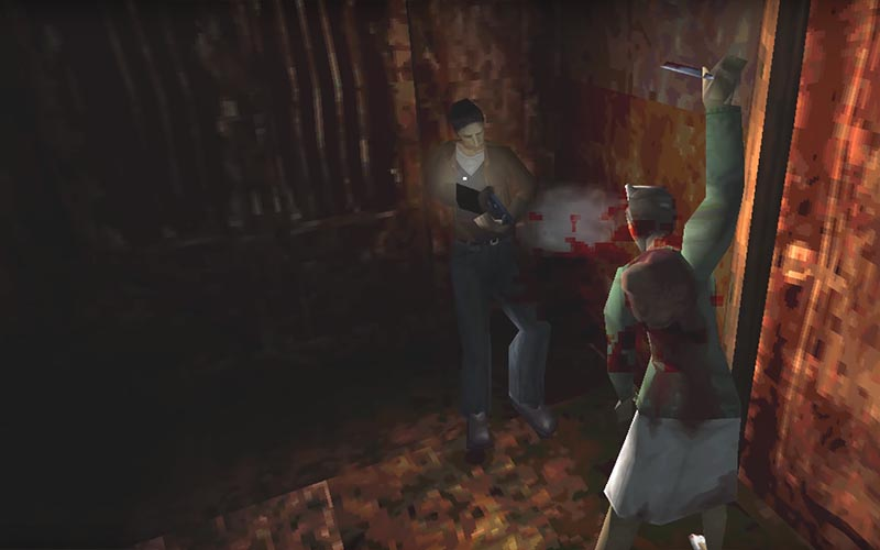 silent hill spooky videogames