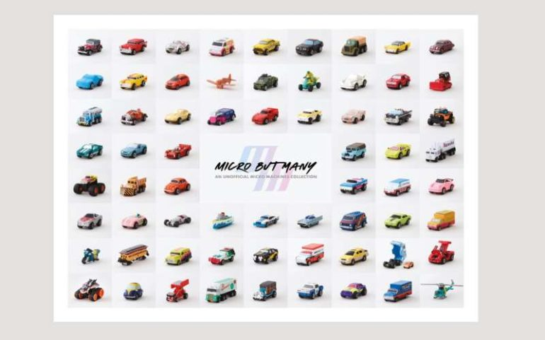 micro machines book micro but many