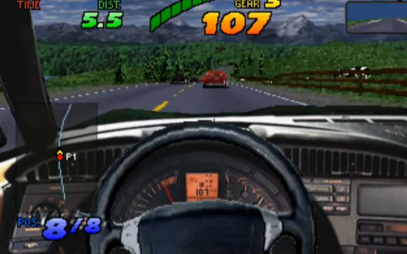 the need for speed sega saturn screenshot