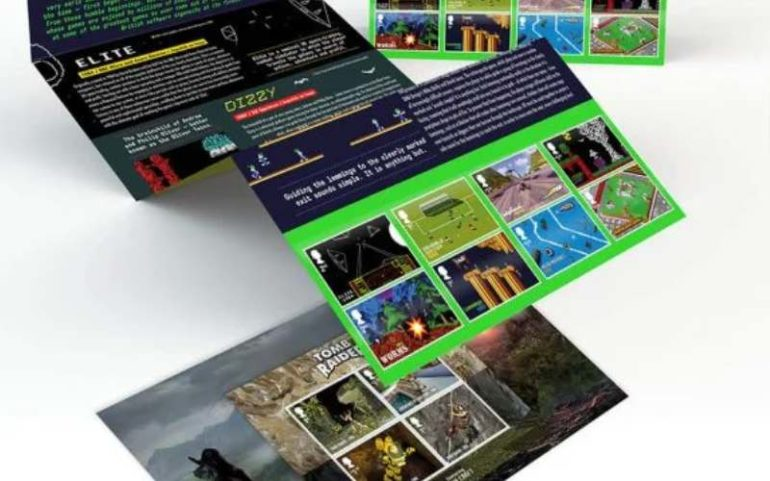 royal mail gaming stamps collection