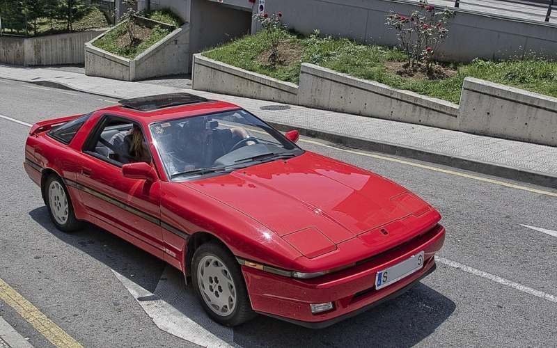 toyota supra 80's Japanese sports cars