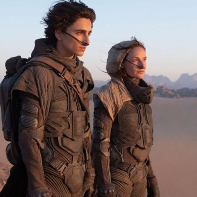 Paul and Jessica on Arrakis