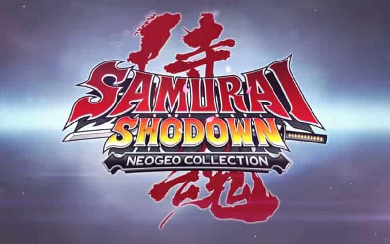 samurai shodown neo geo collection