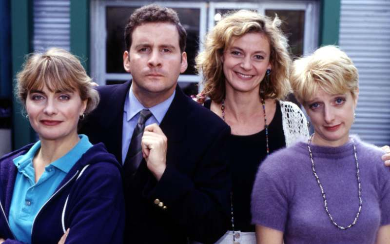 the brittas empire 90's british sitcoms