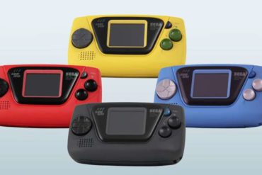 game gear micro four colours