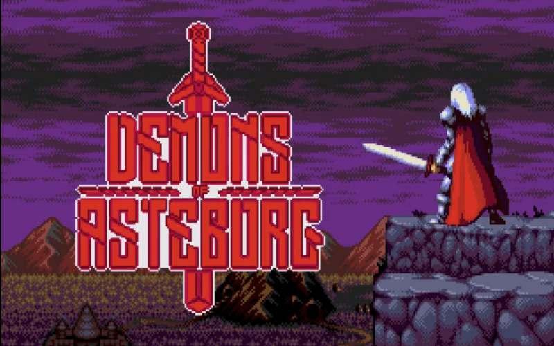 demons of asteborg new megadrive game